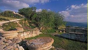 Национальный парк Шомрон - Себастия